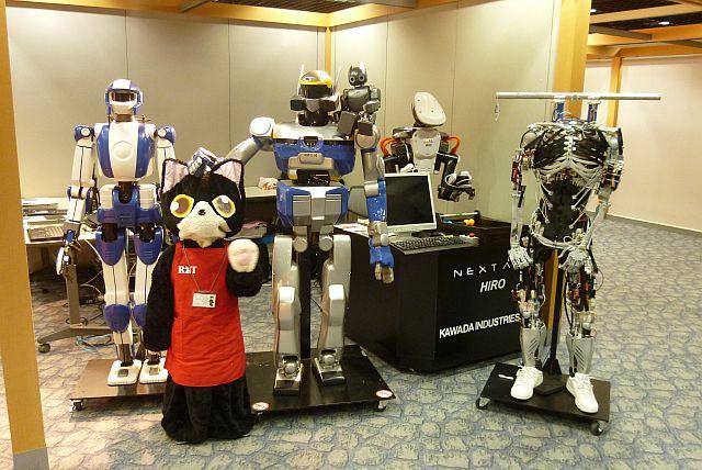 世界の人型ロボット