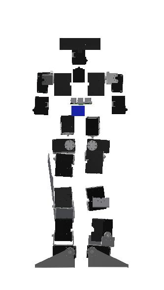 製作中の二足歩行ロボットその1