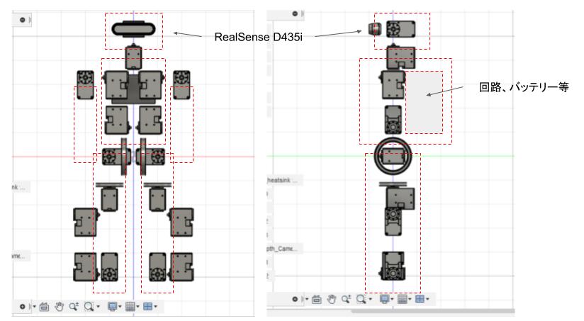 3D CAD 設計図