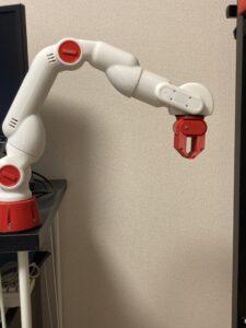 CRANE-X7の6軸目の角度を制御すれば手首を利用できる
