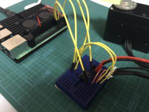 Raspberry Pi 4とXM540の接続