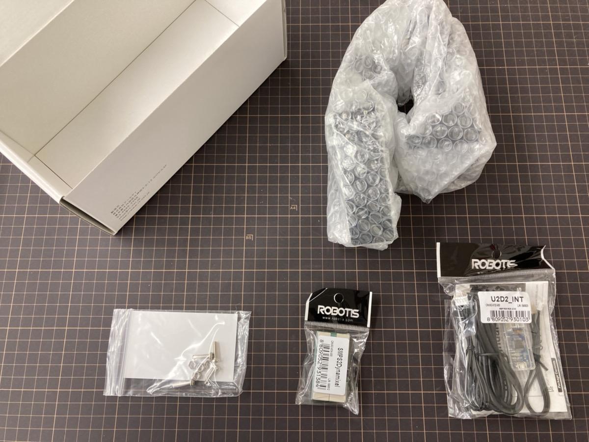 CRANE+V2製品箱を開封