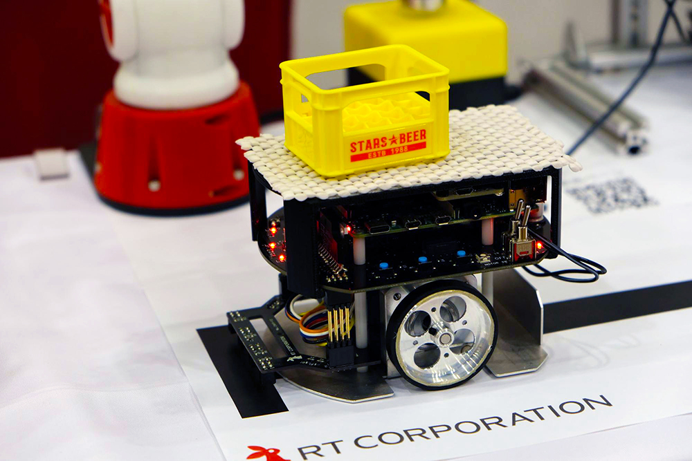 Raspberry Pi Mouseによるライントレース