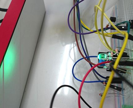 LED受光実験