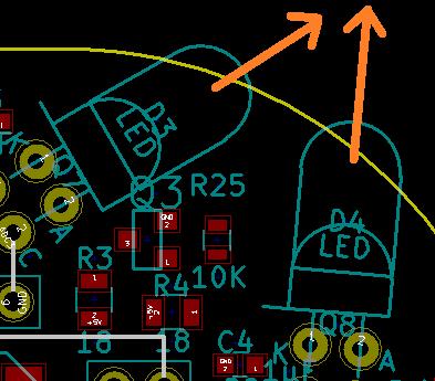 LEDの向き