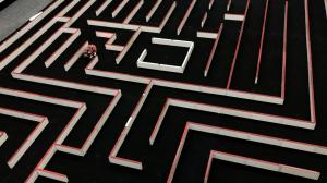 Pi:Coが16×16の迷路を走行