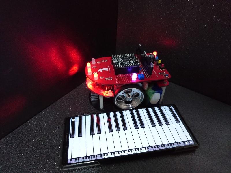 Pi:Co製作(宇野)マイクロマウス研修Part28 疑似和音を鳴らす