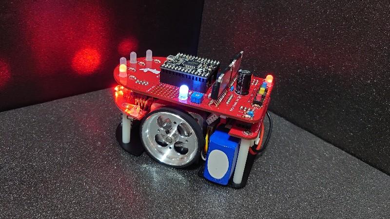 Pi:Co製作(宇野)マイクロマウス研修Part31 疑似的に2つの音で演奏する