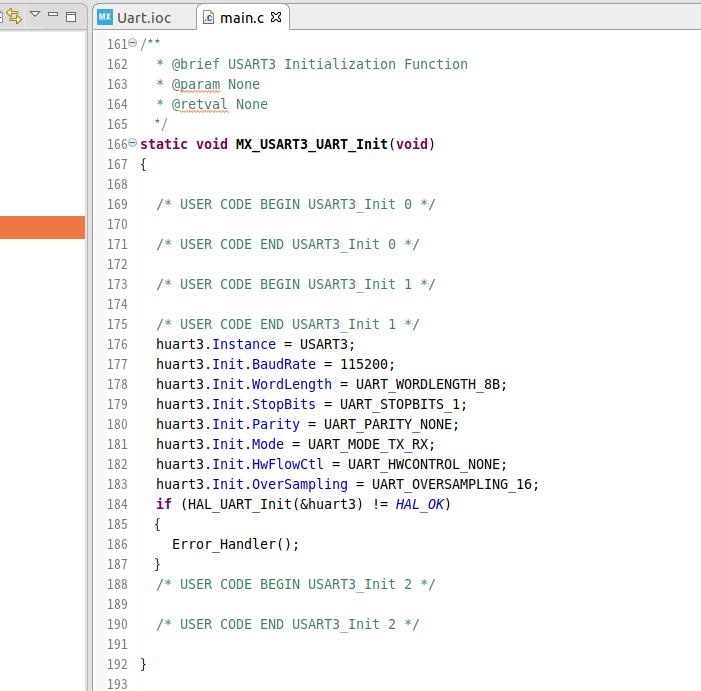 MX_USART3_UART_Init()関数