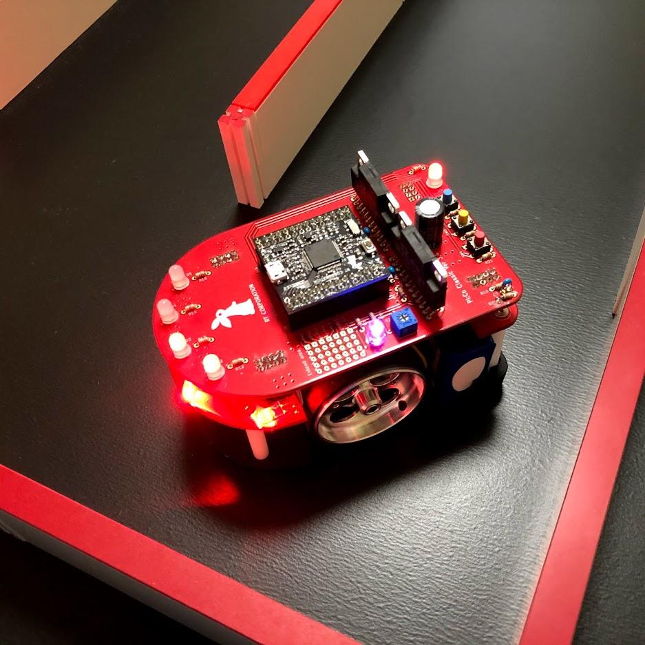 スラローム走行実装のための調査 – d-satoのマイクロマウス研修 Part6