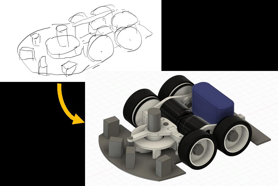 Fusion360で設計するマイクロマウス①:マウス研修(しおたに)32