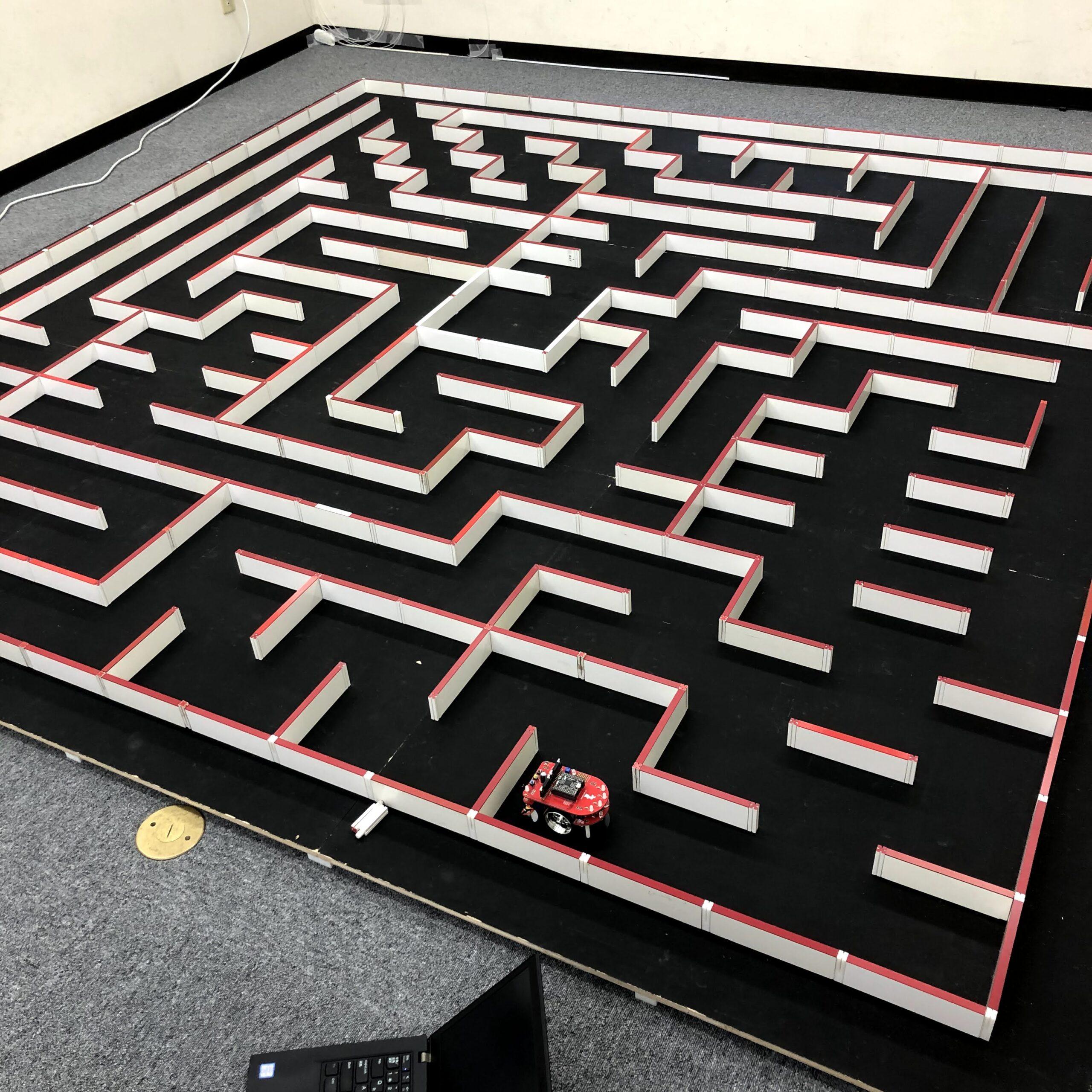 マイクロマウスのクラシックマウス競技のフルサイズ迷路