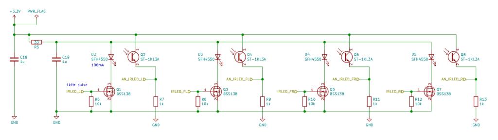 壁センサ回路の全体像