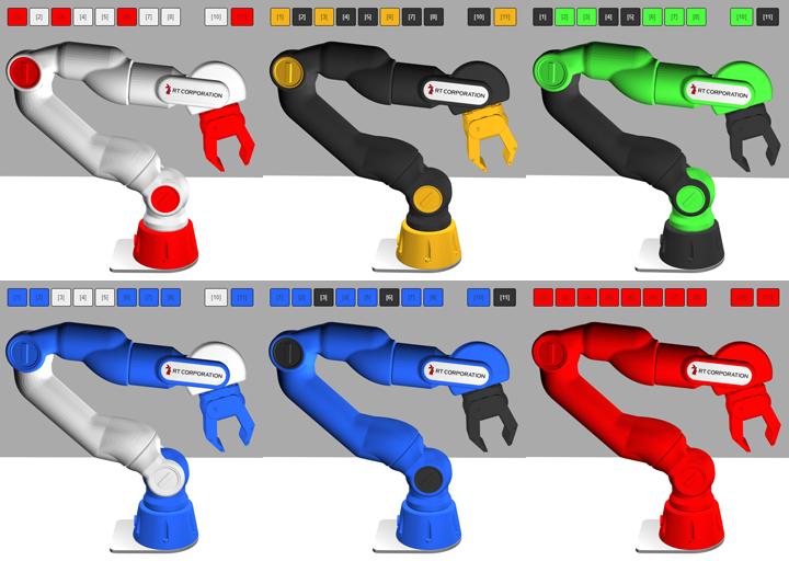 カラーモデル例
