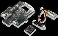 AIチップV3本体、モータドライバモジュール、LiPoバッテリ、LiPoバッテリ充電器