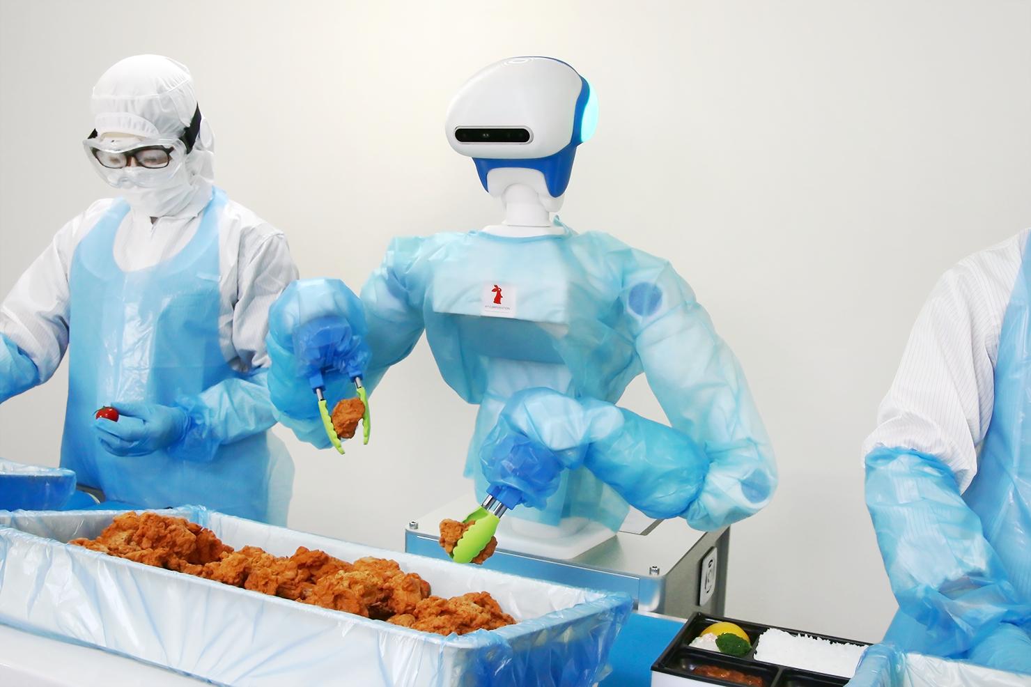 人型協働ロボットFoodly